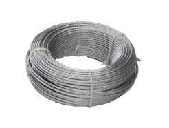 Cable Trenzado Acero Galvanizado 6x7+1 2 MM 100 M